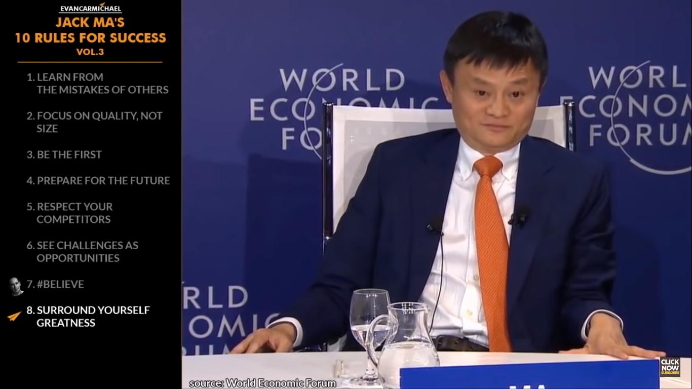 Tỷ phú Jack Ma và 10 quy tắc vàng để thành công