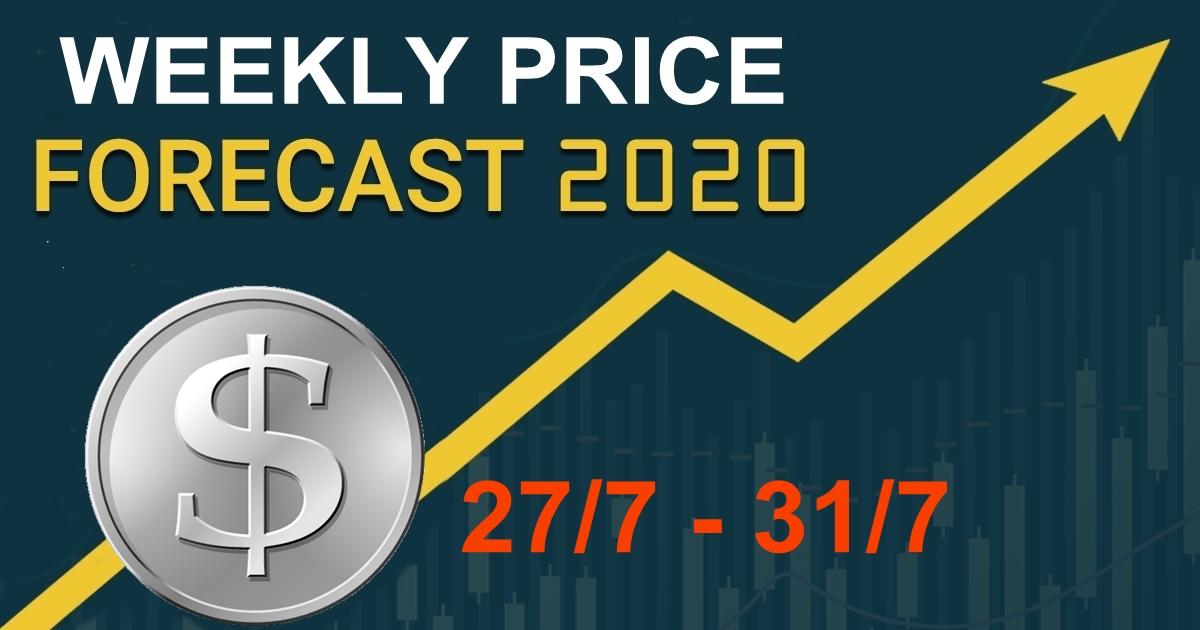 Dự báo giá tuần 27/7 – 31/7, thị trường vàng và chỉ số các loại