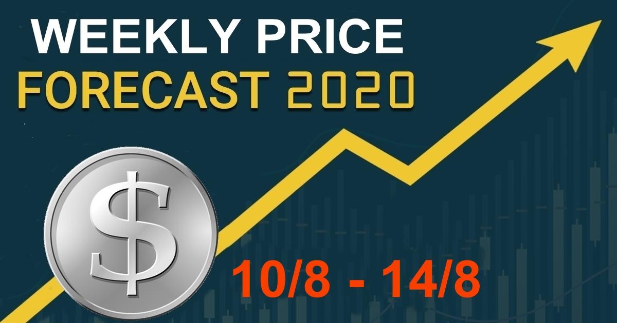Dự báo giá 10/8 – 14/8, thị trường vàng, chỉ số và các cặp tiền chính